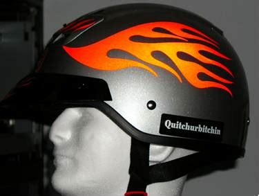 Motorradhelm Aufkleber Set by Streetglo Reflective Helmet Decal And Helmet