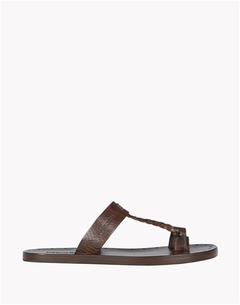 moses sandals lyst dsquared 178 moses sandals in brown for