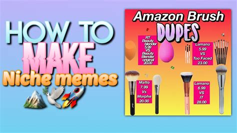 How To Make Niche Memes