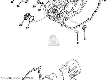 1977 yamaha xt500 wiring diagram yamaha xs400 wiring