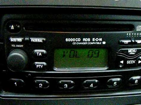 c u auto branch ford mondeo 6000cd rds eon cd changer