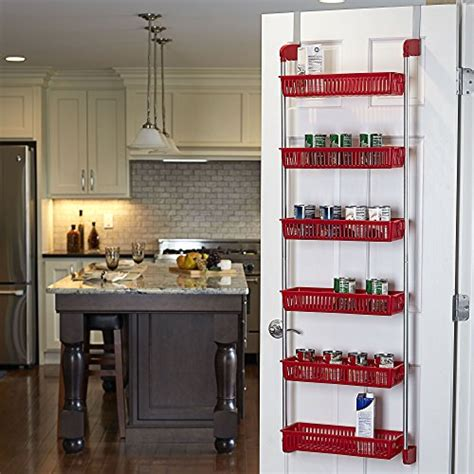 Over The Door Organizer For Kitchen by Basket Over The Door Organizer Storage Rack Holder Shelf