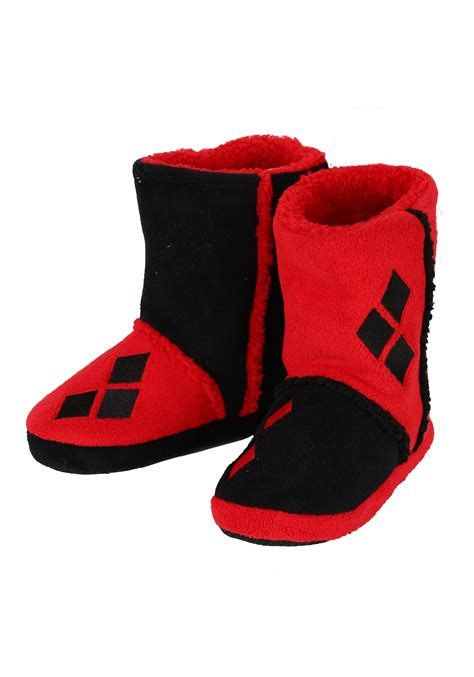 harley slippers harley quinn boot slippers
