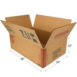 Home Depot Small Box Dimensions The Home Depot 36 In L X 24 In W X 12 In D Heavy Duty