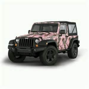camo pink jeep pink camo