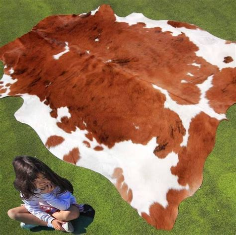 Bull Skin Rug by New Cowhide Rug Large Cow Hide Skin Leather Bull Carpet
