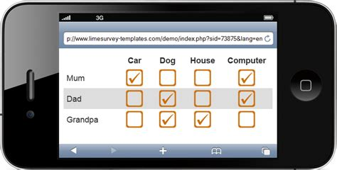 limesurvey mobile limesurvey template iphone tuned limesurvey consulting