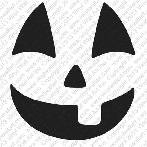 printable jack o lantern faces jack o lantern face 1 halloween decorations