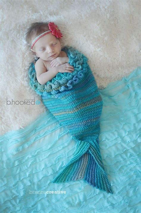 baby knitted mermaid free pattern baby mermaid crochet cocoon and