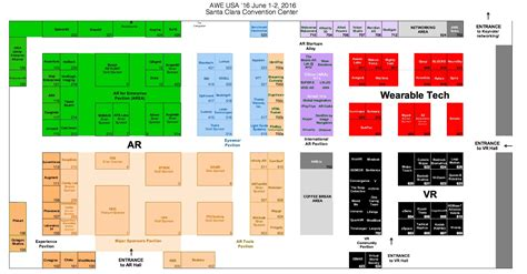 expo floor plan expo floor plan awe 2016