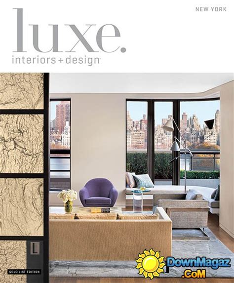 new york home design magazine luxe interior design magazine new york edition winter