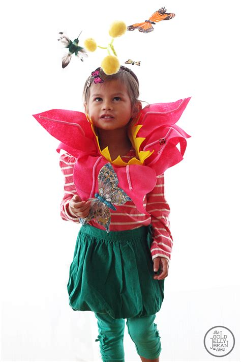 flower garden costume diy garden flower costume for the gold jellybean