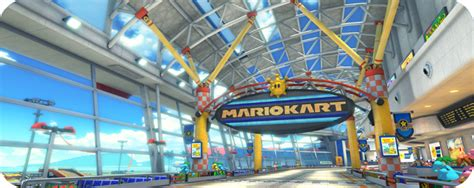 mario kart 8 sunshine airport new mario kart 8 trailer newest mario kart 8 track images revealed mario party legacy