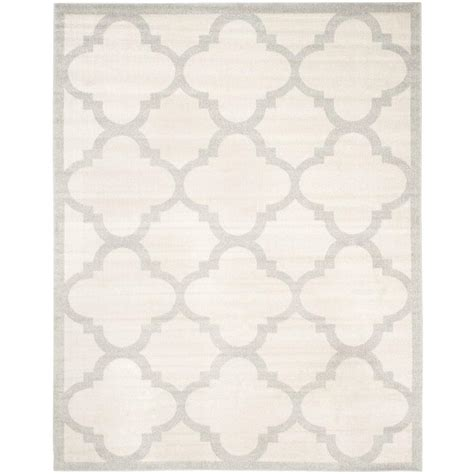10 x 14 outdoor area rugs safavieh amherst beige light gray 10 ft x 14 ft indoor outdoor area rug amt423e 10 the home