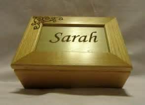 engravable keepsake box personalized wooden keepsake box custom engraved name