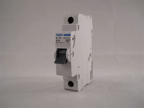 Mcb 3 Pole 20 Ere Bcb63c20 Mcb hager mcb 20 single pole circuit breaker type b 20a b20 450120 mt120 willrose electrical