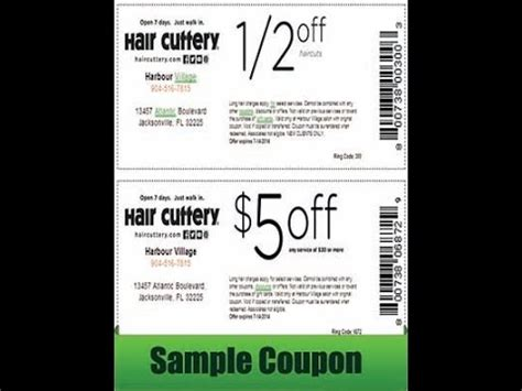 free printable hair cuttery coupons updated available
