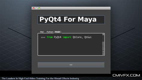 maya qt interface tutorial tutorial pyqt4 ui development for maya 183 justinfx com