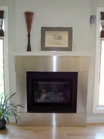 stainless steel trim for fireplace by ridalco fireplace