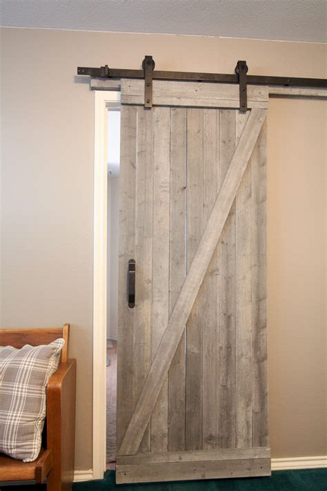 diy barn door interior diy sliding barn door