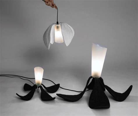 Organic Lighting Fixtures Funky Foldable Home Lighting Fixtures