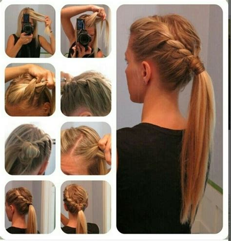 easy hairstyles for long straight hair step by step 15 cute and easy ponytail hairstyles tutorials popular