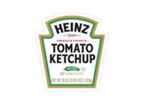 Heinz Label Template by Dollhouse Miniatures Culture And Ketchup On