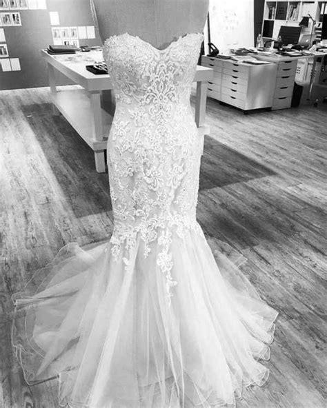 Wed2b viva bride GRACIE wedding dress size 12 for sale new unworn vintage fishtail mermaid lace