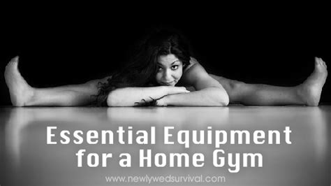 essential equipment for a home newlywed survival