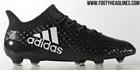 chequered black adidas x 2017 boots released footy headlines