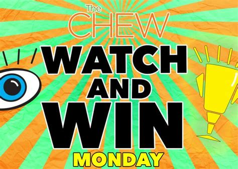Who Won The Sweepstakes Today - the chew watch and win sweepstakes today s emoji included