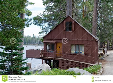 Wrights Lake Cabin Rental wooden cabin by wrights lake stock photo image 7642340