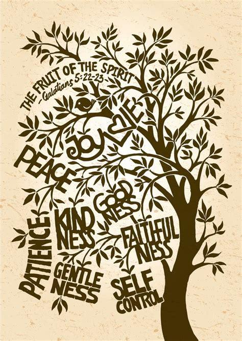 fruit of the spirit tree the fruit of the spirit print by liyin