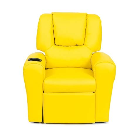 yellow recliner chair buy leather recliner chair yellow in australia