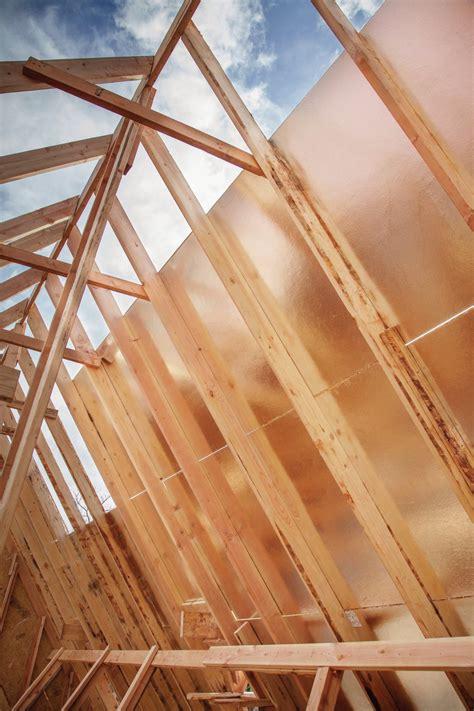 huber radiant barrier roof panels zip system custom home