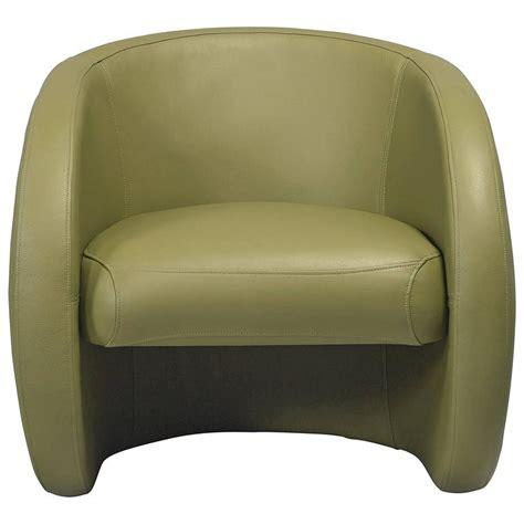 European Design Designer Leather Armchair European Modern Organic Olive Leather Armchair For Sale At