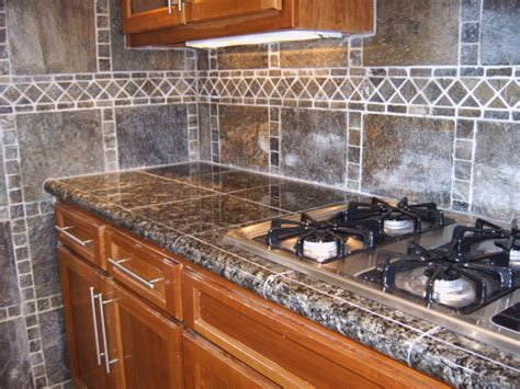 Granite Tile Kitchen Countertops Cupboards Kitchen And Bath When Trends Attack Granite Tile Counters