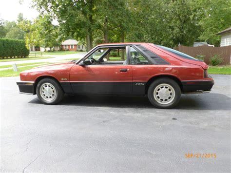 automotive repair manual 1985 mercury capri transmission control 1985 mercury capri rs hatchback 3 door 5 0l ho ford mustang gt for sale in rochester new york