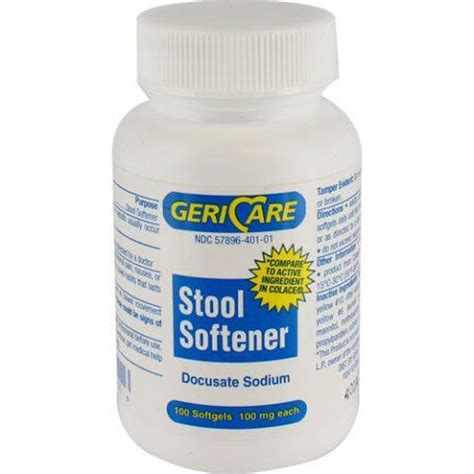 colace comparable docusate sodium docqlace stool softener docusate sodium colace generic 100mg softgels 100 s