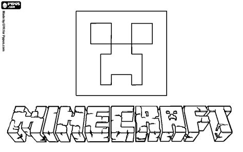 minecraft coloring pages to print coloring home