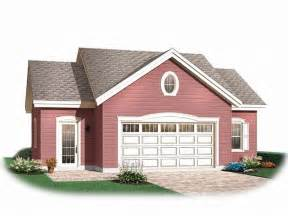 The Garage Plan Shop by Garage Workshop Plans Two Car Garage Workshop Plan
