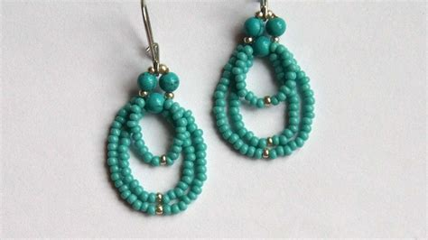 Bead Your Own Sassy Earrings Or Someone Do It For You Either Way Its Your Choice At Designer Fashiontribes Fashion by How To Make Beaded Earrings Diy Crafts Tutorial