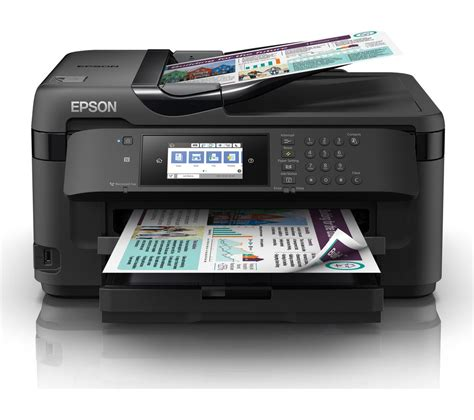 Printer Epson A3 Semarang buy epson workforce wf 7715dwf all in one wireless a3 inkjet printer with fax free delivery