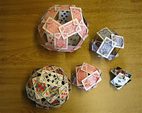 things to make with cards how to make the platonic solids out of cards