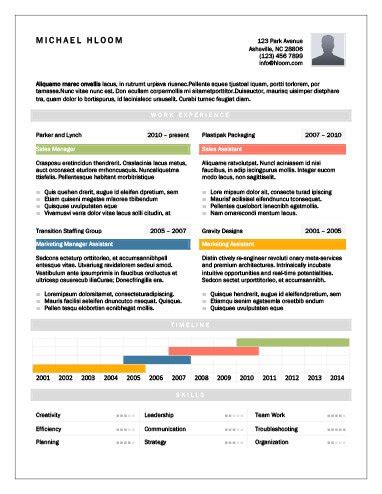 17 Infographic Resume Templates Free Download Hloom Professional Resume Templates