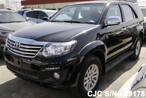 All New Fortuner Air Scoop Colour By Request 2015 left toyota fortuner black for sale stock no 59178 left used cars exporter
