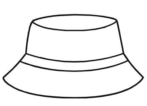 fishing hat coloring page black and white cartoon winter hat pictures to pin on