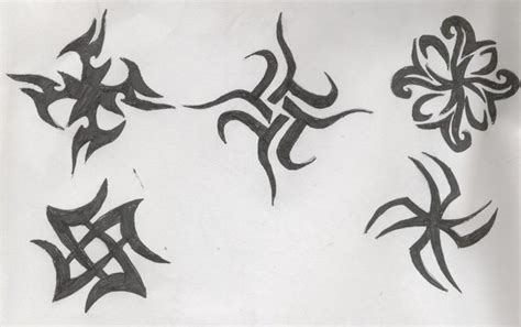 small tribal tattoos by hells shadow angel on deviantart