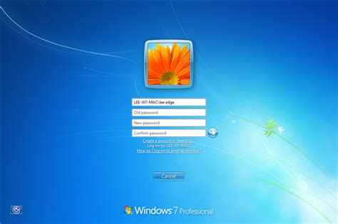 reset password on windows vista business how to change your password on windows 7