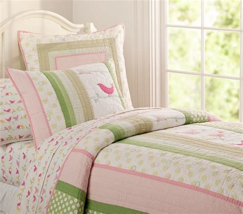 Penelope Quilted Bedding Pottery Barn Kids Pottery Barn Penelope Crib Bedding